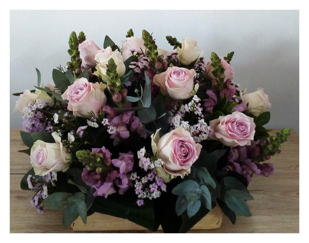 Lilac Box Arrangement