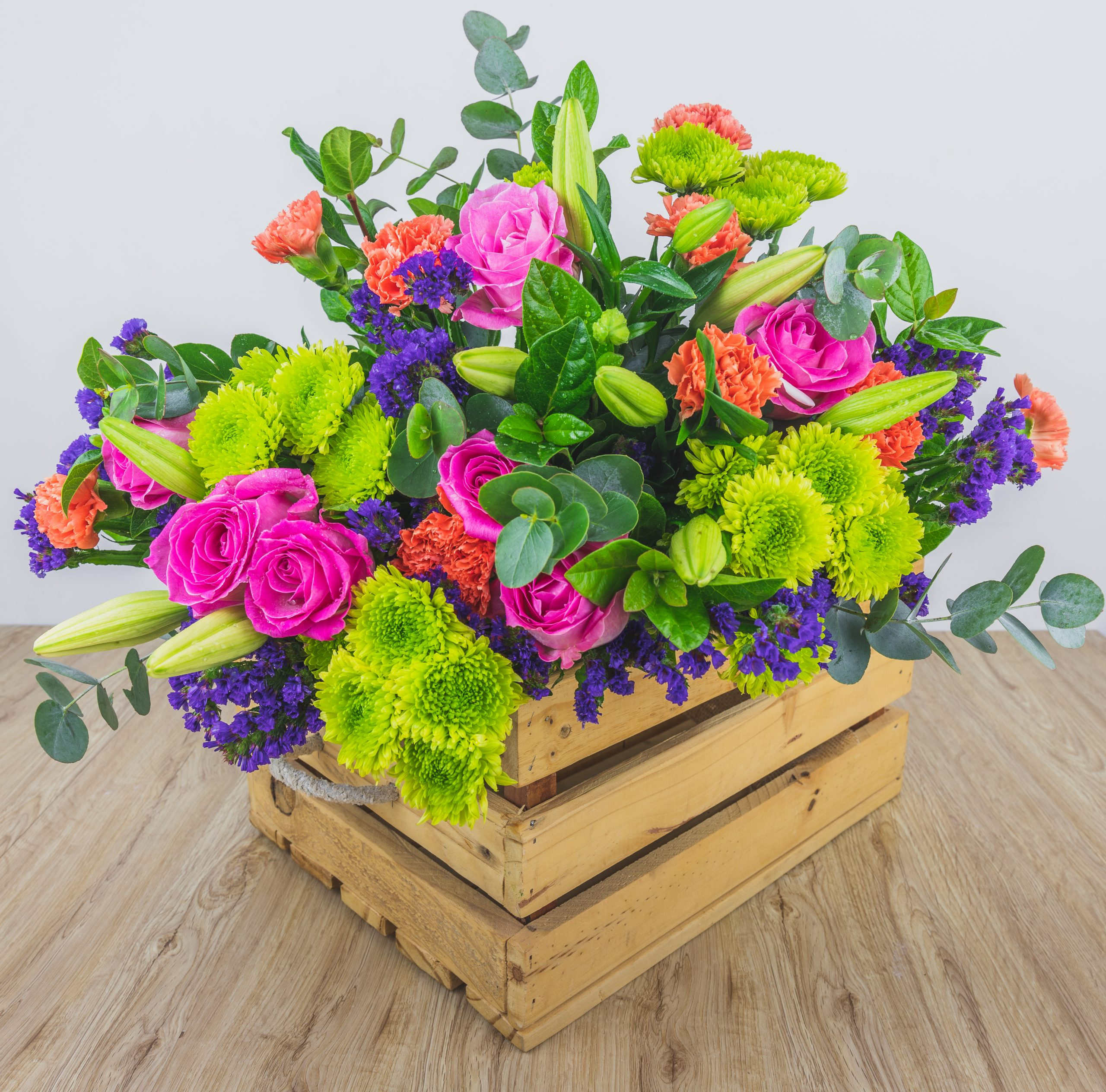 Mixed Bunch Of Flowers – (No Box Included)